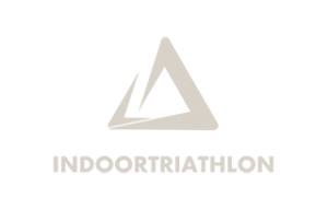 Indoor triathlon logo creme